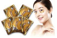 Wholesale Stick Crystals Sheet - NEW Crystal Collagen Gold Powder Eye Mask Golden Mask stick to dark circles Skin Mask FREE SHIPPING