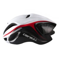 Wholesale Cycling Bicycle Helmets - Bicycle Helmet Cycling Safety Cap Road Bike Reduce Wind Resistance 17 Ventilation Holes eps Integrally-moldes 4d helmet