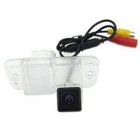 Wholesale Tv Shipping Kit - Car Reversing Aid CCD Rear View Camera Parking Kit Special Camera for Ssangyong Actyon 2011 with Night Vision FREE SHIPPING