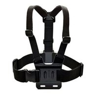 Wholesale Gopro Hero Chest Mount - Universal Go Pro Accessories Body Chest Mount Chesty Harness Shoulder Strap for Gopro Hero 4 3 Xiaomi Xiaoyi Camera