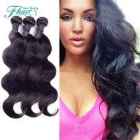 Wholesale customized weave hair resale online - 6A Unprocessed Human Hair Indian Hair Body Wave Bundles Per g oz Hair Weaves Customized Mixed Length