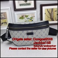 Wholesale Vintage Leather Waist Belt - belt waist bum bag Hips Fanny pack 233269 luxury brand chest sling bag vintage mens designer Cross Body Satchel women handbag small pouch