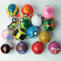 Azione Figura anime Pocket 7cm Pikachu figura PokeBall Super Palla sfera Pallina Cosplay Pop-up Master Grande Ultra GS Bambini Giocattoli Regalo