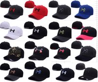 Wholesale High Quality Wholesale Caps - New UA adult Casquette Under Football High Quality Men Women Hip hop fitted Basketball Baseball Hat Armour Snapback Caps Street