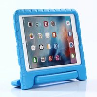 Wholesale Kids Ipad Tablet - Kids [ArmorBox Kido Series] Lightweight Super Protective Convertible Stand Cover For iPad new 2017 9.7 A1822 A1823 Release tablet case+PEN