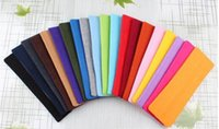 Wholesale Sports Yoga Headbands - Candy Color Vogue Women Yoga Sport Headband Simple Hairband Elastic 20*5cm Elastic Headband Sports Yoga Accessory headbands 200pcs