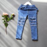 Wholesale Wholesale Jeans Pants - Wholesale-2016 summer women's fashion baby lace pants photos of children's clothing jeans pencil