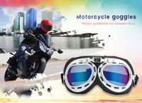 Wholesale Motocross Protect - Unisex Motorcycle Motorbike Motocross Riding Goggles Outdoor Glasses Motor Eyewear Cycling Wind Protection Protect for Harley 205144504