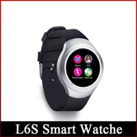 2016 neueste L6S intelligente Watche Bluetooth 3.0 / 4.0 intelligente Watche Unterstützung IOS Android 4.0 freeshipping