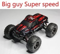 Wholesale Electric Rc Cars Road - Wholesale-S911 Off-road Big Wheels Electric RC Car High Speed 50km h Radio Control Truck Super Power Car Free Shipping