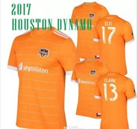 Men order football shirts - Mixed order TOP thai quality MLS Houston home soccer jerseys DYNAMO football jersey shirts
