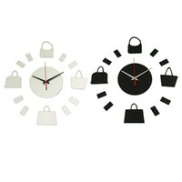 Wholesale 2015 Hot Sale Watch Wall Clock Home Decoration Modern Diy Acrylic Mirror Stickers Quartz Needle New Safe Design