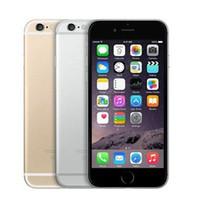 windows mobile iphone оптовых-Восстановленное разблокирована оригинальный Яблоко iPhone 6 плюс iPhone 6 16 ГБ 64 ГБ 128 ГБ 5.5 экрана iOS 8 с 3G WCDMA камера 8МП с LTE 4G мобильный телефон