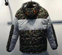 Wholesale Clothing Men Baseball Jacket - Kanye West high quality Shark and Three bars Jacket men Women MA1 Pilot Baseball yeezus sports jacket Cotton clothing jacket