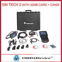 Wholesale Suzuki Tech2 - Wholesale-2016 New Car Diagnostic tool Tech II scanner g m Tech2 for G M SAAB OPEL SUZUKI ISUZU Holden Vetronix tech 2 scanner DHL FREE