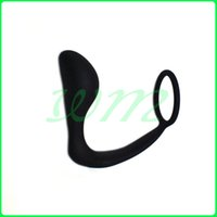 Wholesale Male Prostate Anal Toys - Men Climax Fantasy Silicone Male Prostate Massager Cock Ring Anal Sex Toys Butt Plug for Men, Adult Erotic Anal Sex Toys