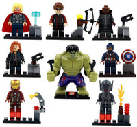 Wholesale Super Hero building blocks the Avengers bricks Ultron Era Kids Toy Mini Figure Building Blocks Sets Model Toy Minifigures Brick