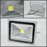 Wholesale Fedex White Spot - In Stock By DHL   Fedex 30W LED Flood Light Spot Lights Projection Lamp Advertisement Signs lamp Waterproof Outdoor Square Floodlights