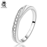 Wholesale Material Jewelry - 2017 New Arrival,Elegant Wedding Jewelry Rings,S925 Sterling Silver Material on 3 Layer Platinum Plated Free Shipping OR14