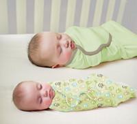 Wholesale Baby Summer Sleeping Bag - Summer Swaddleme Baby Sleeping Bags Cotton Muslin Swaddle Baby Sleepsacks Wraps Infant Baby Swaddling Cotton Wrap Sleeping Bag