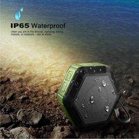 Wholesale Handsfree Wma - IP65 Waterproof Wireless Stereo Portable Outdoor Bluetooth Speaker Handsfree Super Mini Wireless Shower Outdoor Sport Climbing Stereospeaker