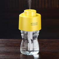 Wholesale Make Mini Usb - Aroma Diffuser Mini USB humidifier essential diffuser maker ultrasonic mist make bottle purifier fogger