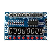 Key Display para AVR Arduino Nuevo 8-Bit Digital LED Tubo 8-Bit Digital TM1638 Módulo
