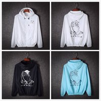 Giacche Ripndip Uomo Sport Causal Hooded Outdoor Abbigliamento Marca Hip Hop Zipper streetwear giacche sottile Windbreaker