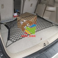 Wholesale Trunk Cargo Net For Cars - 70*70cm 4 Hooks Car Trunk Cargo Net for all cars AUDI s3 q5 r8 a9 Volkswagen BUICK storage net buggy bag for car boot use