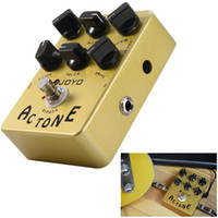 Wholesale guitar pedal joyo - Joyo AC Tone Electric Guitar Effects Pedal Classic British Rock Sound Vox AV-30 Tone AMP Simulation Guitar Effect Stompbox