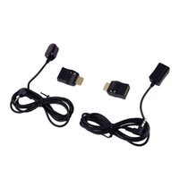 Wholesale Remote Ir Extender - Wholesale-New IR Extender Over HDMI Remote Control Adapters Receiver Transmitter Cable Kit Wholesale