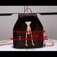 Wholesale Ladies Book Bags - MONTSOURIS M43431 drawstring chic city BACKPACK book satchel womens ladies luxury handbag M43462 M43434 419584 N41500 LOCKME M54848 N41578