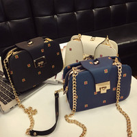 Wholesale Factory Girl Fashion - 2017 NEW Fashion Small Women Shoulder Bag mobile phone Chain Handbag Bag High Quality Factory Price Sale