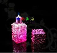 narguilé achat en gros de-Lampe à alcool couleur eau cube - pipe en verre fumer narguilé gongs en verre - plates-formes pétrolières bangs en verre pipe en verre narguilé fumer - vap-vaporiser