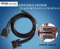 Wholesale Engine Ecu Ford - 100% Original Fcar Main Cable F3-A F3-W F3-S Repair Tool Auto Obd II Car Cables Obd2 Adapter 12 v OBD-II Wire OBD 2 OBDII Cable for FCAR