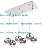 Wholesale Living Room Ceiling Lights Rectangle - rectangle ceiling pendant lamps dining room pendant lighting linear suspension hanging lighting modern pendant lamps led lights living room