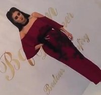 Wholesale Red Wine Tea - Wine Red Split Prom Dresses 2018 Sheath Sheer Tulle Crew Neckline Beaded Lace Appliqued Tea Length Homecoming Party Dresses