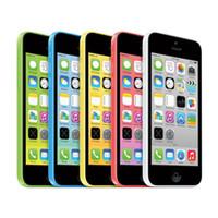 ingrosso mela 2gb-100% di telefoni iPhone 5C ricondizionati Apple IOS8 da 4.0 pollici IPS da 8 GB / 16 GB / 32 GB sbloccati
