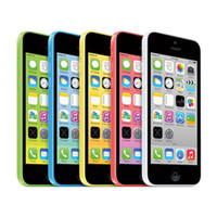 iphone 5c 16gb großhandel-100% Refurbished Apple iPhone 5C Handy IOS8 4,0 Zoll IPS 8 GB / 16 GB / 32 GB entsperrt