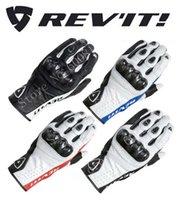 добрые перчатки оптовых-2016 новый REV'IT! Airvolution мотоцикл езда перчатки из углеродного волокна кожа Revit мотоцикл перчатки имеют 4 вида цветов размер M L XL