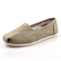 балетная обувь оптовых-Классическая мода Марка холст обувь мужчины квартиры повседневная женщины холст обувь квартиры танцевальная обувь балетки 20 пар