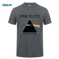 T-shirt stampata Floyd Print T-shirt Dark Side of the Moon Abbigliamento Rock Roll Music Top manica corta