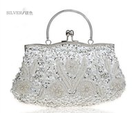 Wholesale Grey Silk Bag - High quality and fashion bride bags, evening bags