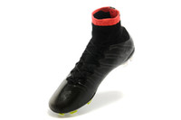 Wholesale Soccer Cleats Ronaldo Carbon Fiber - Mercurial superfly FG mens soccer Boots cleats shoes sock-like feel CR7 Ronaldo football shoes Carbon fiber bottom size 39-45