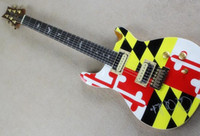 Wholesale Image Guitar - Free shipping Single wave model 22 frets PS signature product image cover electric guitar 0320
