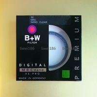 Wholesale 52 mm lens - B+W 52mm XS-PRO MRC Nano BW UV Haze Protective Filter 52 mm Ultra-thin Frame Multi-Resistant Coating For camera Lens As Canon Hoya Kenko