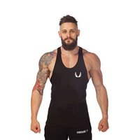 Wholesale Exercise Apparel - Wholesale- Large yards wide vest fitness apparel small wings exercise deep muscle male cotton vest