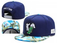Wholesale Trucker Hats For Cheap - Brand Snapback Cap Baseball Gorras Hat Casquette Bone For Men And Women Gorras Planas Hip Hop Trucker Caps Blue Tree Sky Cheap