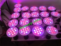 Wholesale E27 36w Grow - LED Grow Lights 36W 54W E27 LED Grow light bulbs 660nm Red 460nm Blue PAR30 Par38 Flower Plant Hydroponics System AC85-265V