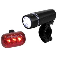 BV Bicycle Light Set Super Bright 5 LED Headlight, 3 светодиодных фонаря, Quick-Release